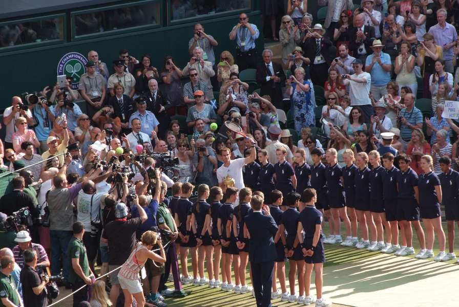 Wimbledon Photographers - Andy Murray at Wimbledon